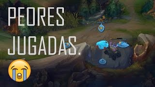 Peores Jugadas con Zac - League of Legends