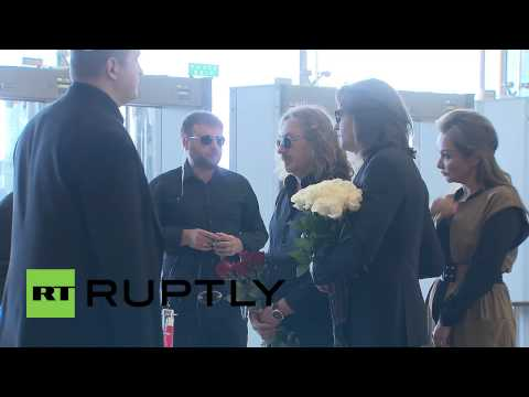Russia: Mourners pay their last respects to pop singer Zhanna Friske