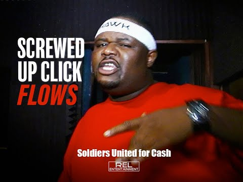 SCREWED UP CLICK Freestyles & Flows feat. HAWK, MIKE D, LIL' O & C. WARD Video