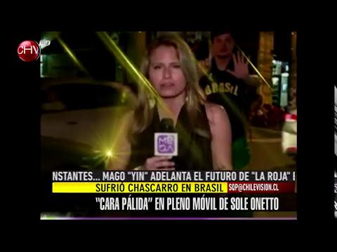 Mire el chascarro que vivió Soledad Onetto en Brasil - SQP