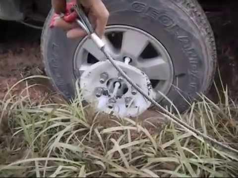 ุเครื่องมือช่วยรถติดหล่ม  Pulling Car Tool