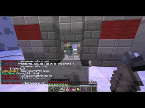 Awesome Zombie Multiplayer Server for Minecraft... ZHorde!