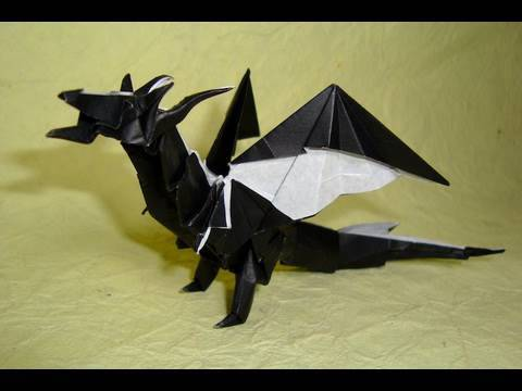 Origami Fiery Dragon Instructions ( Kade Chan) video