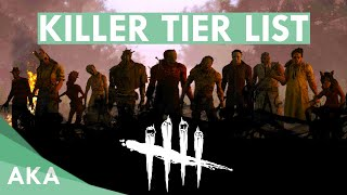 NEW Killer Tier List - Dead by Daylight - Patch 2.6.2 [Updated]
