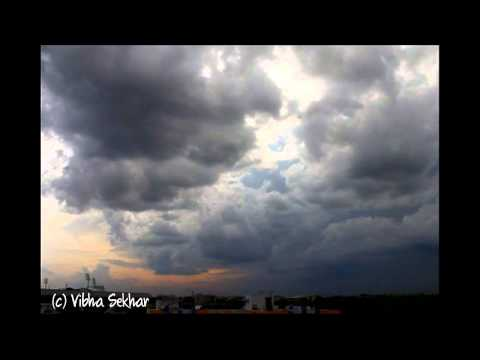 A Storm approaching Hyderabad - Time Lapse
