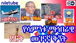 የሳምንቱ ማኅበራዊ መገናኛ ቅኝት Social Media in this week - DW Amharic (November 25, 2016)