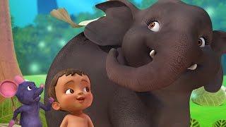 Download Hathi Raja | Hindi Rhymes & Baby Songs for Children | Infobells 3Gp Mp4