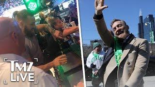 Conor McGregor Buys 100 Shots of Whiskey at Florida Bar! | TMZ Live