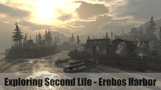 Exploring Second Life - Erebos Harbor - #SecondLifeChallenge