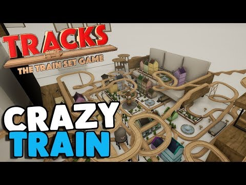 NEW FAVORITE GAME, Wooden Block Railroad   Tracks Gameplay