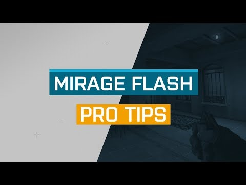 CS:GO - ProTips: Mirage - T Flash for B-Apps