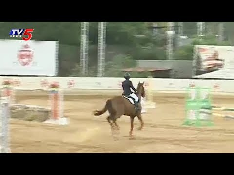 Horse Show At Hyderabad Polo And Riding Club | TV5 News