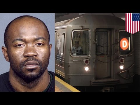 Man killed by subway: Murder suspect Kevin Darden arrested for pushing man onto tracks
