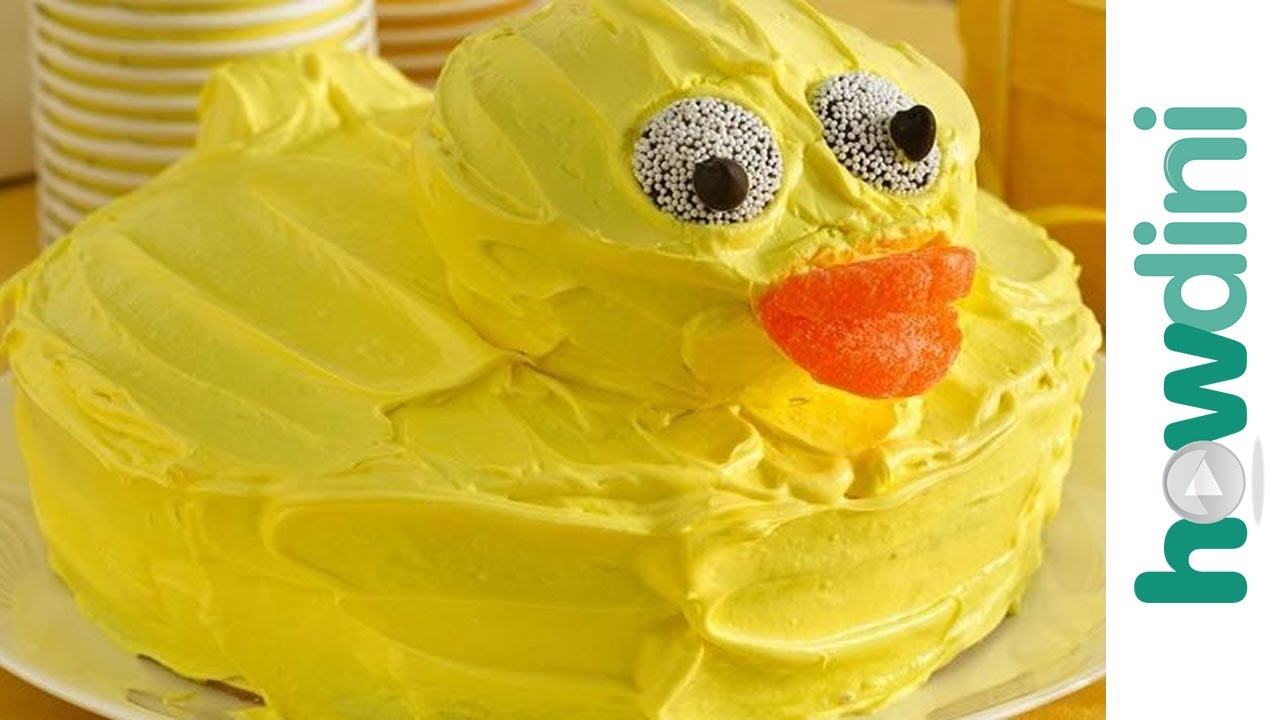 how to make a rubber duck pinata