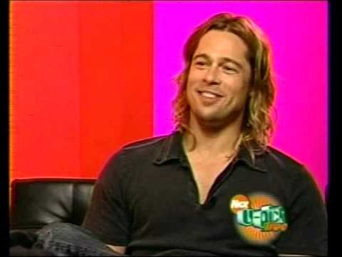 U-Pick Live Brad Pitt Interview w The Cow
