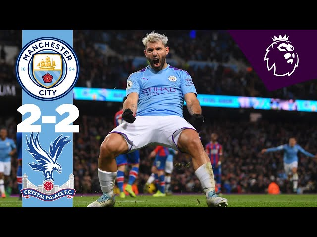 HIGHLIGHTS | MAN CITY 2-2 CRYSTAL PALACE, AGUERO (2), TOSUN, FERNANDINHO thumbnail