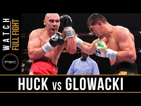 Huck vs Glowacki FULL FIGHT:  Aug. 14, 2015 - PBC on Spike