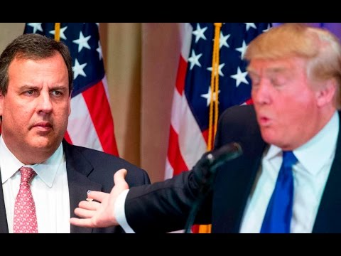 Trump Fat Shames Chris Christie, Just For Fun