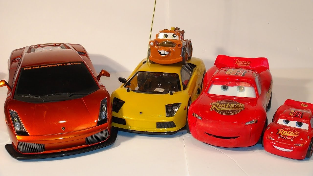 Pixar Cars Fast Talkin Lightning Mcqueen Vs Remote