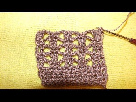 АЖУРНЫЙ УЗОР КРЮЧКОМ Easy Ruffled Beginner Crochet