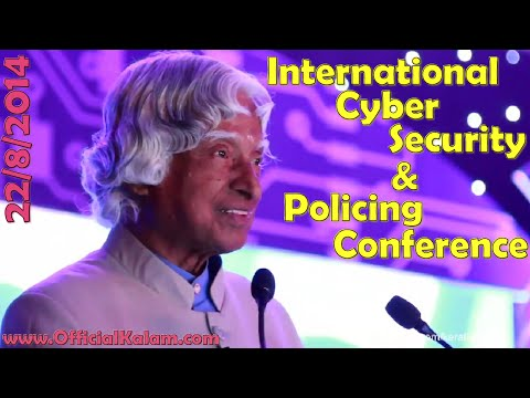 A.P.J. Abdul Kalam at Cocon 2014 - International Cyber Security and Policing Conference