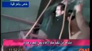 Video Of Saddam Hussein  - Being Hung in Iraq