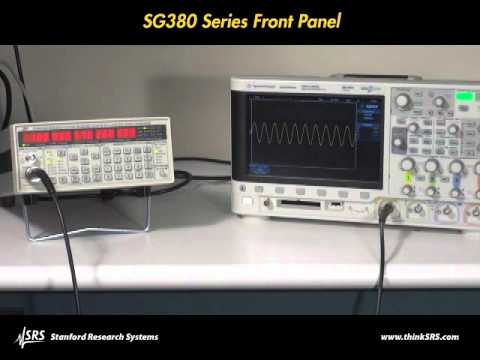 SG380 Series RF Signal Generators product overview