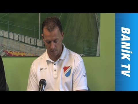 Tisková konference: 1.FK Příbram - FC Baník Ostrava