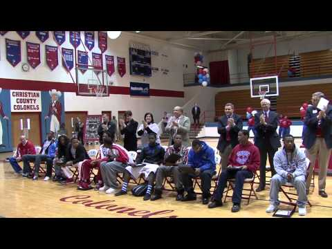 Christian County High School Basketball State Champs Parade and Rally