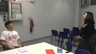 A1M: Wang Chen a lezione di italiano