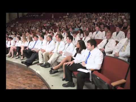 Future physicians receive their white coats at the University of Kentucky College of Medicine