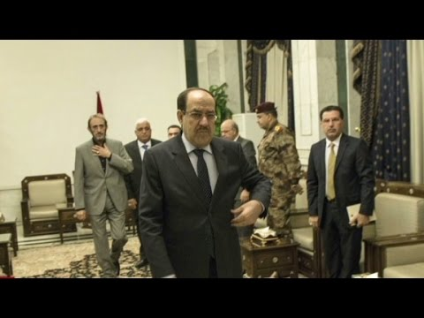 Iraqi president to push out al-Maliki, names new P.M.