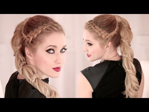 Spiral Braid ★ High Ponytail Hairstyle For Long Hair ★ Carousel video