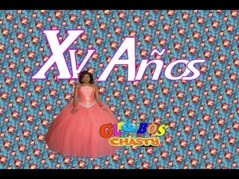 Decoracion con globos para 15 a os youtube for Adornos navidenos para xv anos