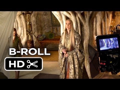 The Hobbit: The Desolation of Smaug COMPLETE B-ROLL (2013) - LOTR Movie HD