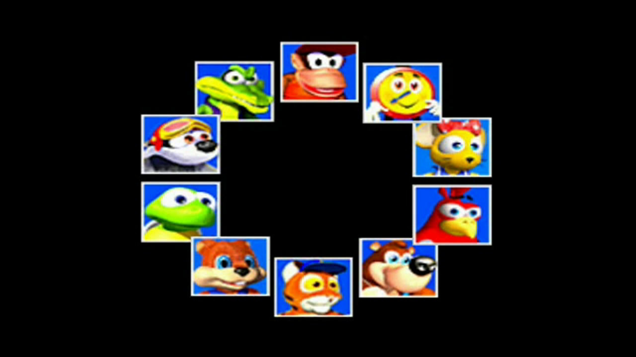 Diddy Kong Racing Characters Diddy Kong Racing st The