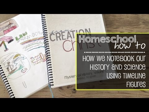 Homeschool How To: How We Use Notebooking in Science and History