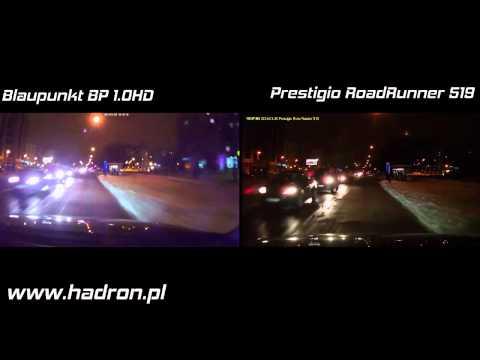 Porównanie DVR Prestigio RoadRunner 519 i Blaupunkt BP10HD