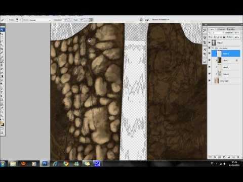 Demostracion como pintar rocas manga youtube - Como insonorizar una pared ...