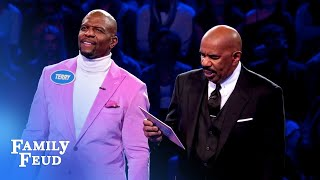 Terry and Rebecca Crews CRUSH Fast Money! | Celebrity Family Feud