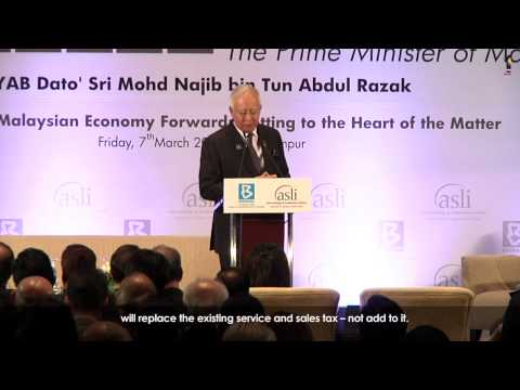 Najib Razak : National Economic Summit #2