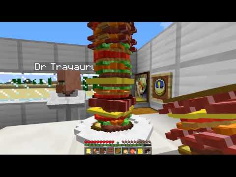 Minecraft   SANDWICH MOD! (The Tallest Sandwich in the World!)   Mod Showcase