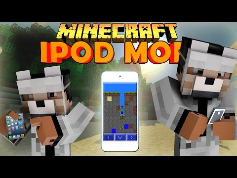 EyePod Mod for Minecraft 1.8 Review (In-Game Apple Ipod)