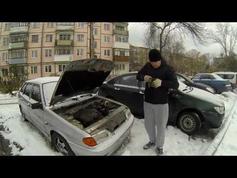 Замена втягивающего реле на ВАЗ-2114.