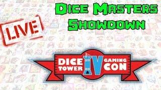 Dice Tower Con 2015 LIVE - Dice Masters Showdown