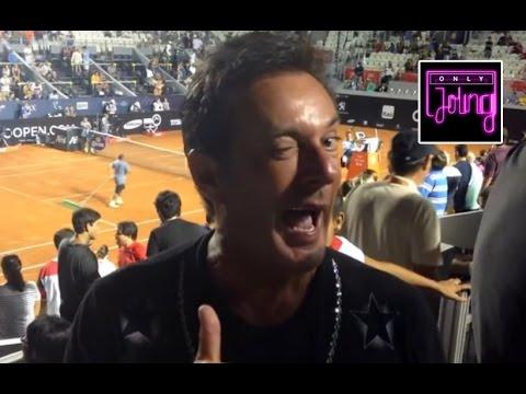 Gerard Joling - Ontmoeting Met Rafael Nadal Tijdens Rio Open