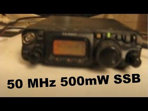 2500km 50 MHz 500mW - QRP QSO with VK6ADI Part 2