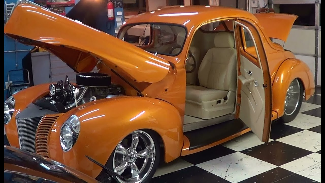 1940 Ford Street Rod Pro Auto Custom Interiors Youtube