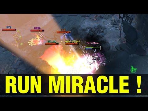 RUN, MIRACLE, RUN !! - MIRACLE- SLARK - Dota 2