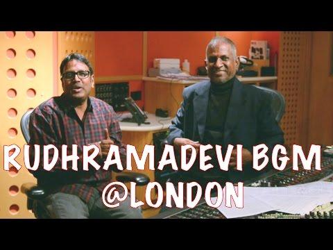 Guna Sekhar Garu & Ilayaraja Sir About Rudhramadevi BGM @ London || Anushka, Allu Arjun, Rana,